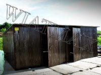 garaż blaszany, garaże blazane, hala blaszana, wiata blaszana, garaz blaszany, wiata śmietnikowa, konstrukcja stalowa, 134