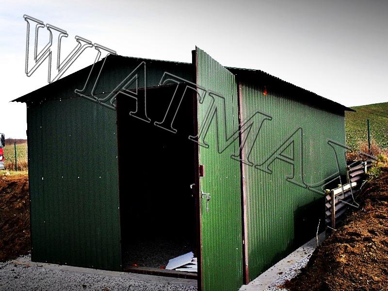 garaż blaszany, garaże blazane, hala blaszana, wiata blaszana, garaz blaszany, wiata śmietnikowa, konstrukcja stalowa, 63