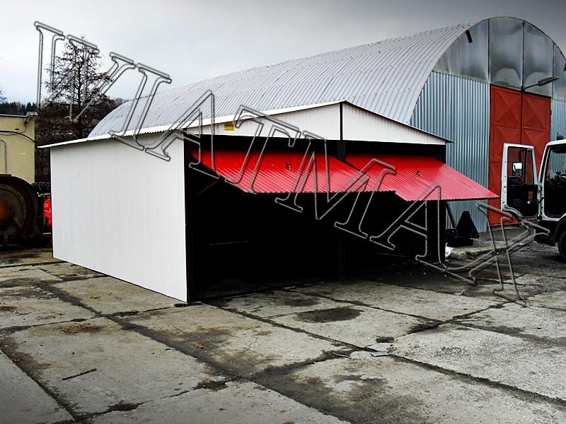 garaż blaszany, garaże blazane, hala blaszana, wiata blaszana, garaz blaszany, wiata śmietnikowa, konstrukcja stalowa, 17