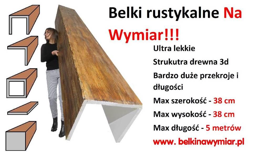 maskownice belki drewniane